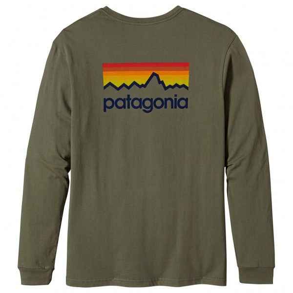Patagonia - L/S Line Logo T-Shirt - Longsleeve