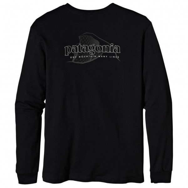 Patagonia - L/S One Mountain Many Lines T-Shirt - Longsleeve