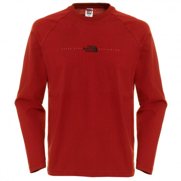 The North Face - L/S Embroidered Logo Tee - Longsleeve