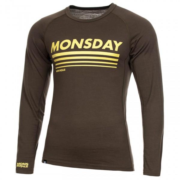 Mons Royale - Slim Jim LS - Camiseta de manga larga