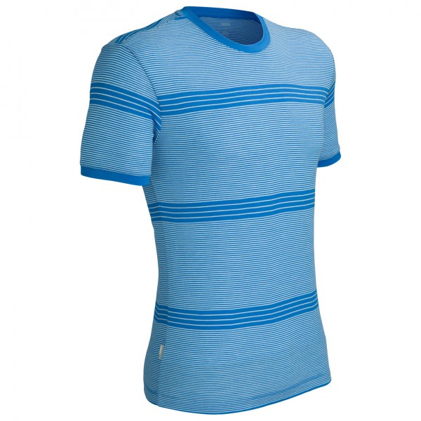 Icebreaker - Tech T Stripe - T-Shirt