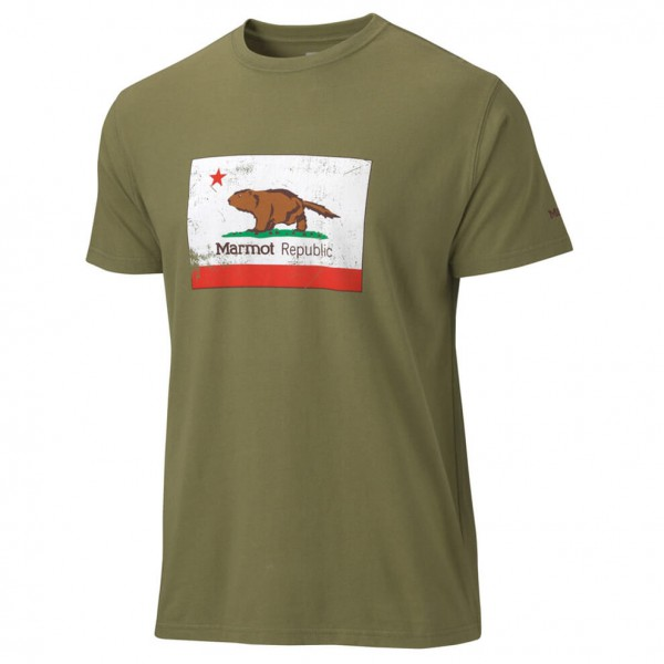 Marmot - California Marmot Tee SS - T-shirt