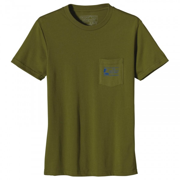 Patagonia - Heritage Wave Pocket T-Shirt