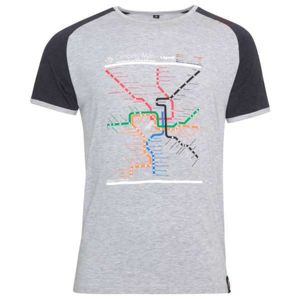 Chillaz - T-Shirt Verdon Map