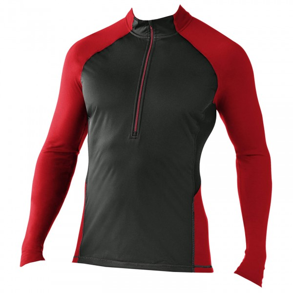 Smartwool - PhD Light 195 Wind Zip T - Manches longues
