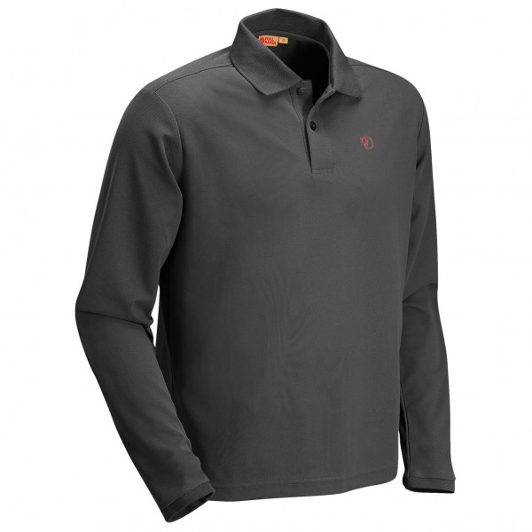 Fjällräven - Crowley Long Sleeve Pique - Kragtröja