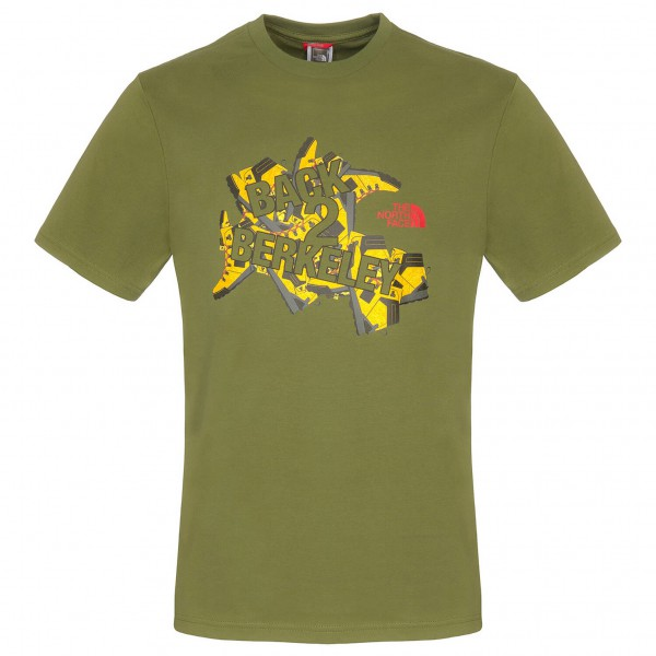 The North Face - SS Back To Berkeley Ii Tee - T-paidat