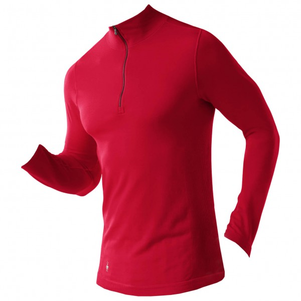 Smartwool - PhD Run Zip T - Joggingshirt
