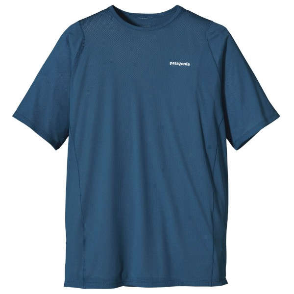 Patagonia - SS Air Flow Shirt - Juoksupaita