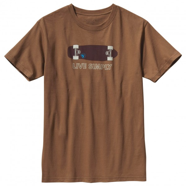 Patagonia - Live Simply Skateboard T-Shirt