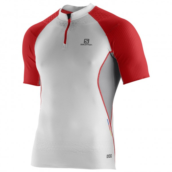 Salomon - S-Lab Exo Zip Tee - Laufshirt