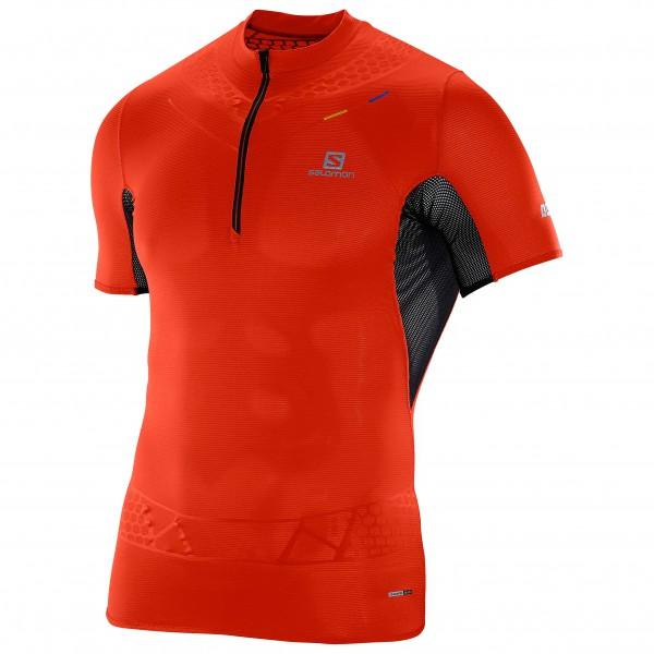 Salomon - S-Lab Exo Zip Tee - Running shirt