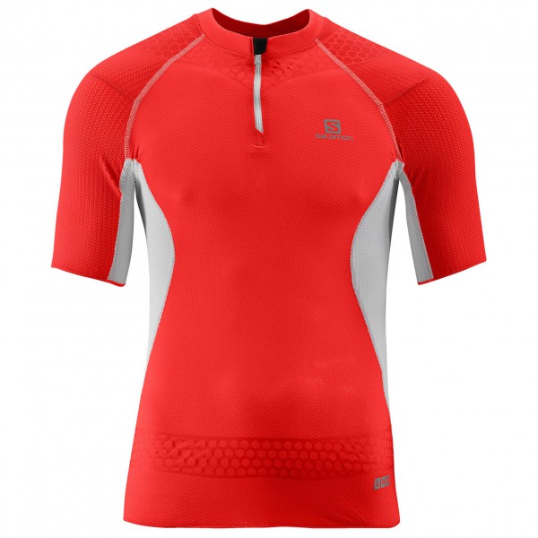 Salomon - S-Lab Exo Zip Tee - Running shirt