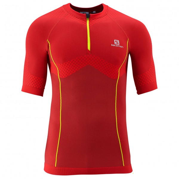 Salomon - Exomotion Zip Tee - Running shirt