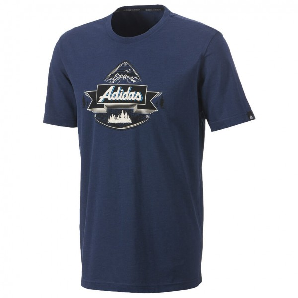 Adidas - HT Crest Tee - T-paidat