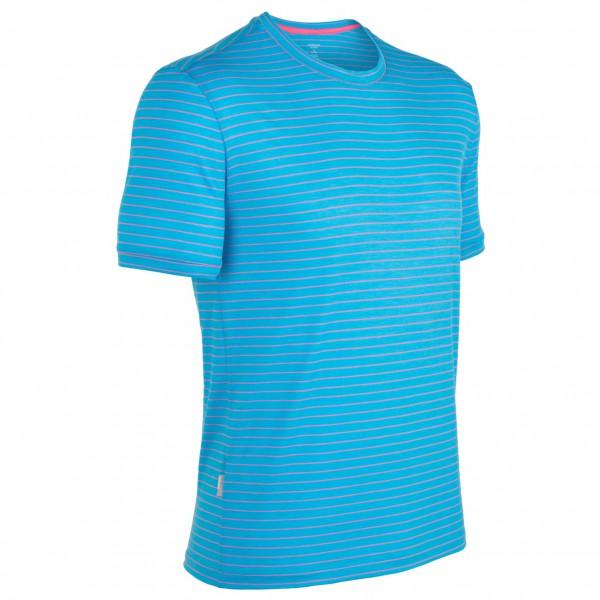 Icebreaker - Tech T Lite SS Stripe - T-shirt