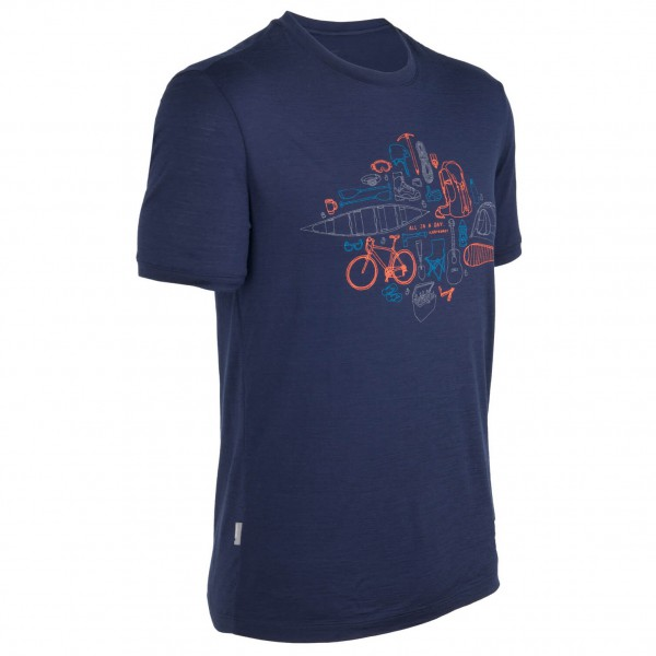 Icebreaker - Tech T Lite SS All In A Day - T-shirt