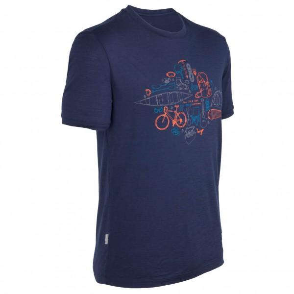 Icebreaker - Tech T Lite SS All In A Day - T-Shirt