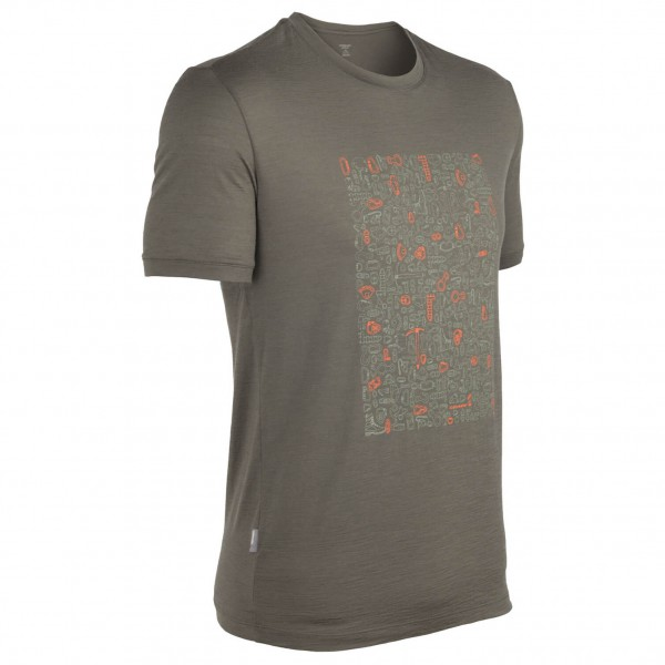 Icebreaker - Tech T Lite SS Climb On - T-shirt