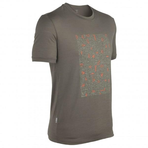 Icebreaker - Tech T Lite SS Climb On - T-shirt