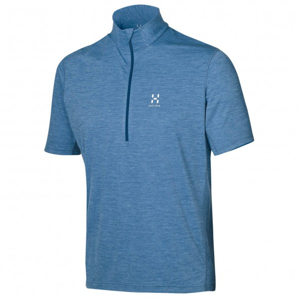 Haglöfs - Ridge SS Zip Tee - Polo shirt