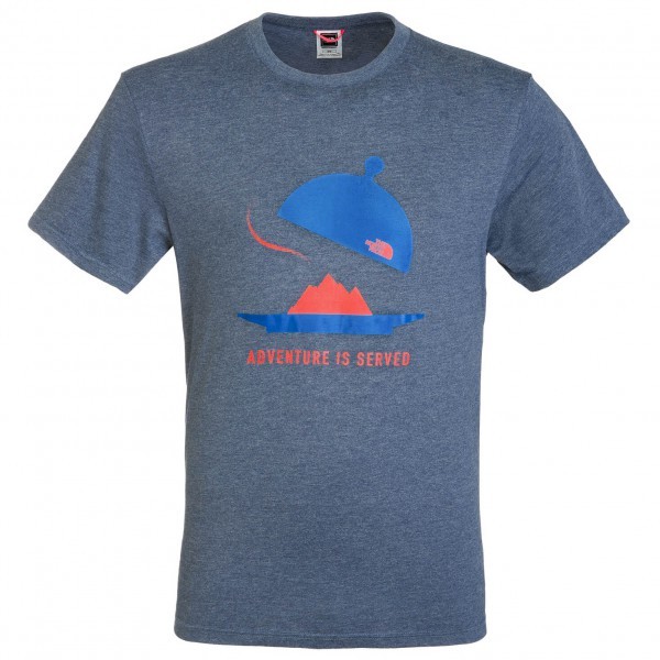 The North Face - SS Adventure Is Served Tee - T-shirt