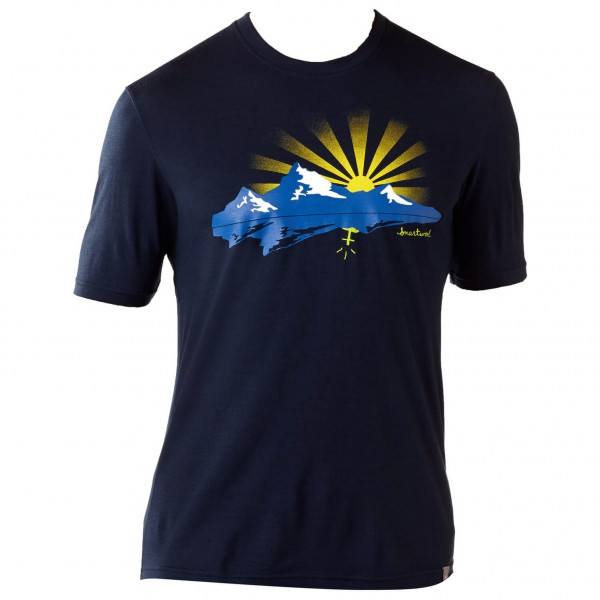 Smartwool - Sunset Logo Tee - T-shirt