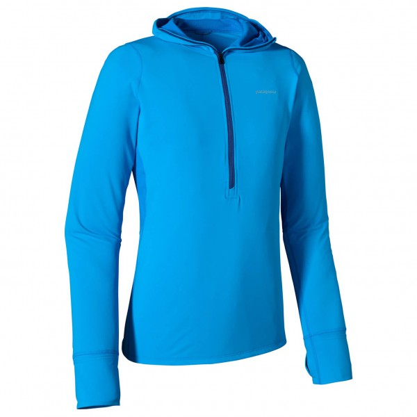 Patagonia - All Weather Zip Neck Hoody - Laufshirt