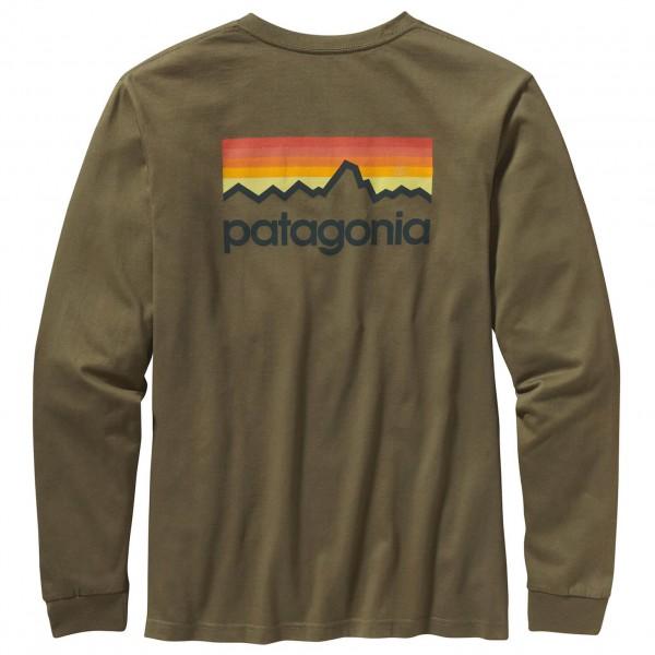 Patagonia - LS Line Logo T-Shirt - Manches longues