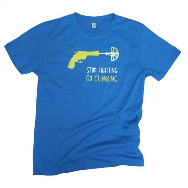Blue Ice - Go Climbing T-Shirt