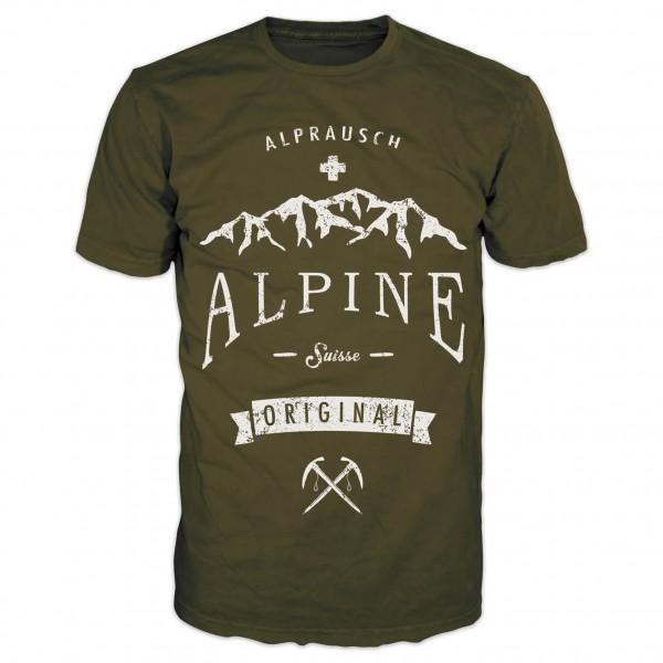 Alprausch - Rolf Panorama - T-Shirt
