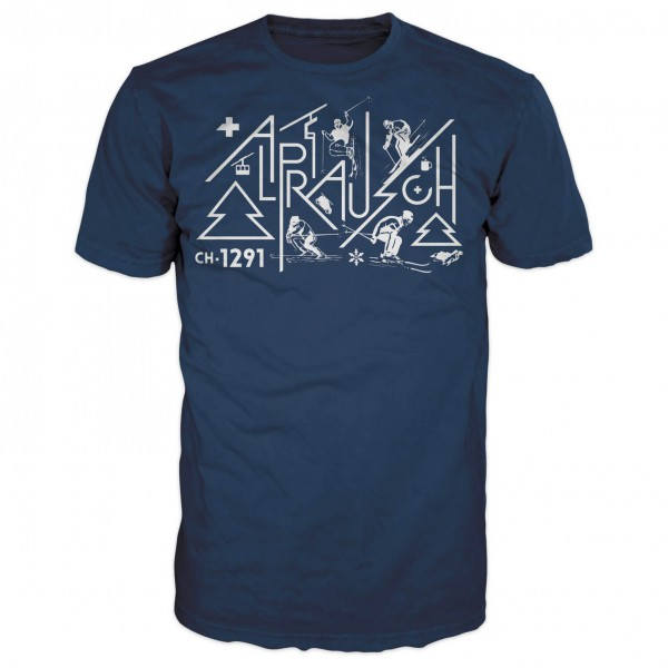 Alprausch - Rolf Skifahrer - T-shirt