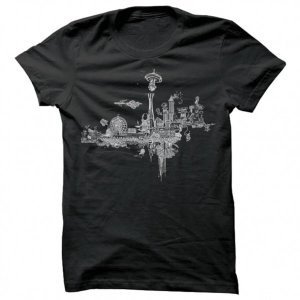Spacecraft - Take Off Tee - T-shirt