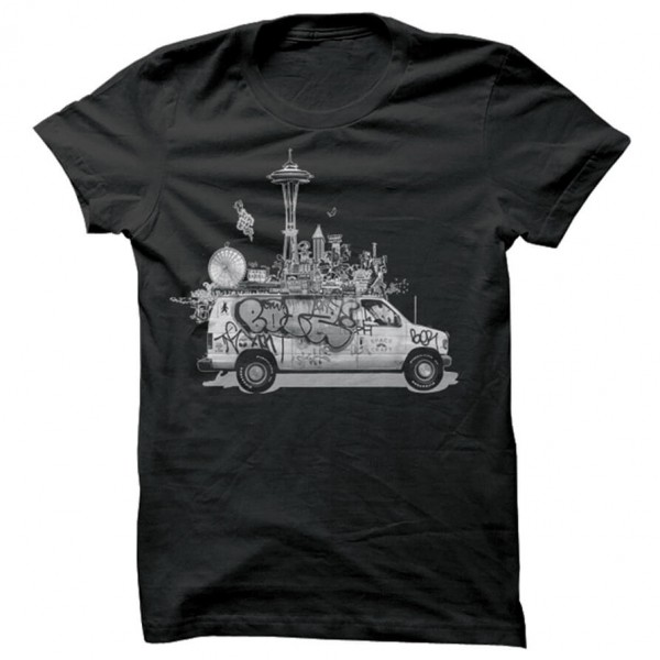 Spacecraft - Van Life Tee - T-paidat