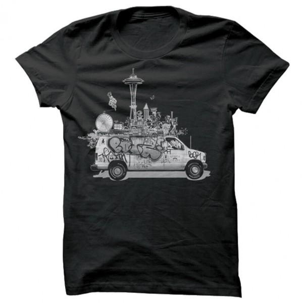 Spacecraft - Van Life Tee - T-paidat