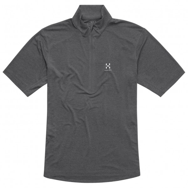 Haglöfs - Ridge II SS Zip Tee - Polo-Shirt