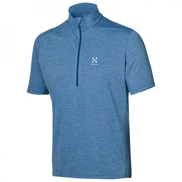 Haglöfs - Ridge II SS Zip Tee - Poloshirt