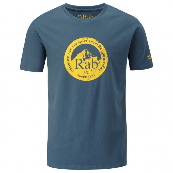Rab - Graphic Tee Peak Badge - T-shirt