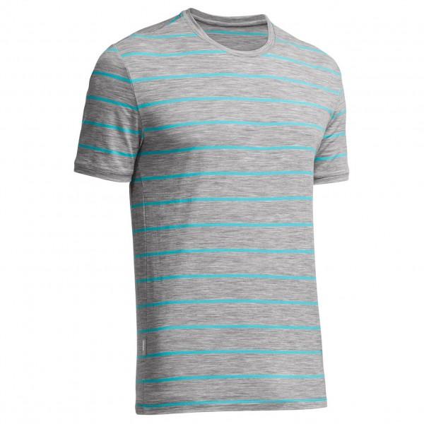 Icebreaker - Tech Lite SS Crewe Stripe - T-Shirt