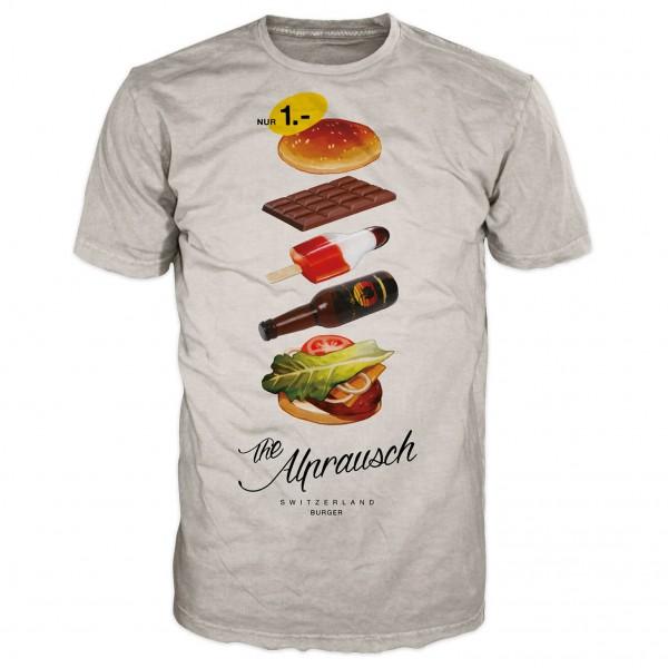 Alprausch - Edwin Swiss Burger - T-Shirt
