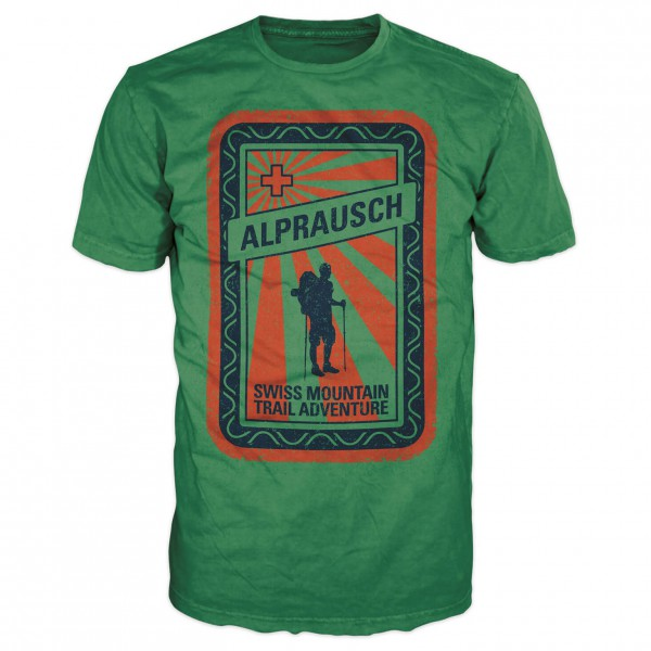 Alprausch - Edwin Wandervogel - T-shirt
