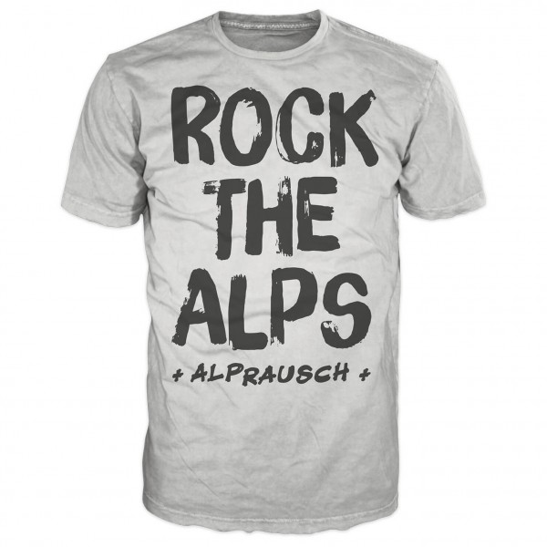 Alprausch - Edwin Rock The Alps - T-paidat