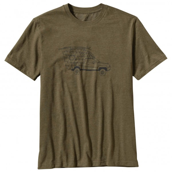 Patagonia - Live Simply Surf Camper T-Shirt - T-paidat