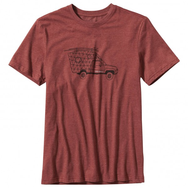 Patagonia - Live Simply Surf Camper T-Shirt - T-shirt