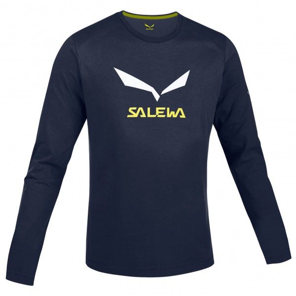 Salewa - Solidlogo CO LS Tee - Longsleeve