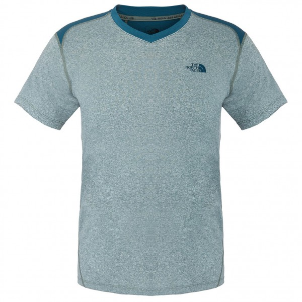 The North Face - Reactor S/S V-Neck - Laufshirt