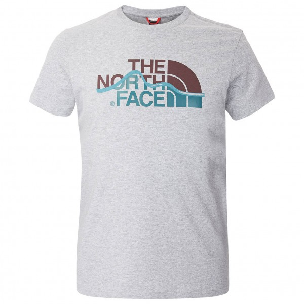 The North Face - SS Mountain Line Tee - T-paidat