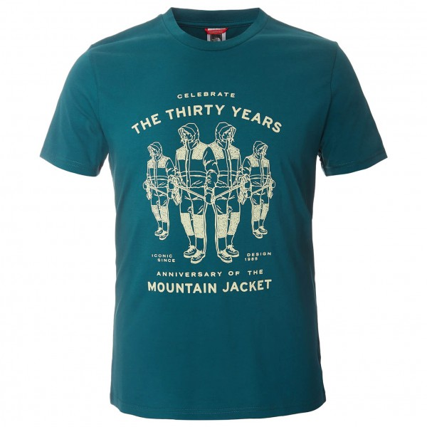 The North Face - SS Mountain Celebration Tee - T-paidat