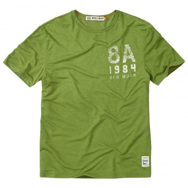 Moon Climbing - Statement Heritage Tee - T-Shirt
