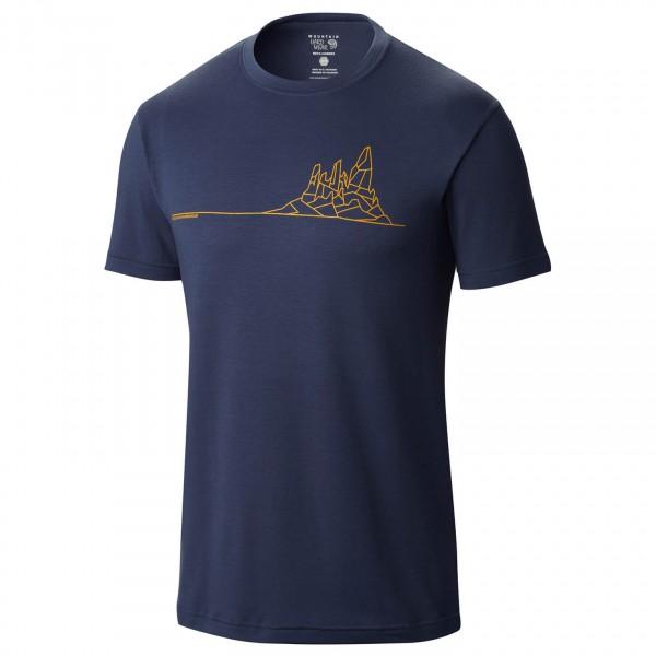 Mountain Hardwear - Thin Line Mtn Short Sleeve T - T-paidat